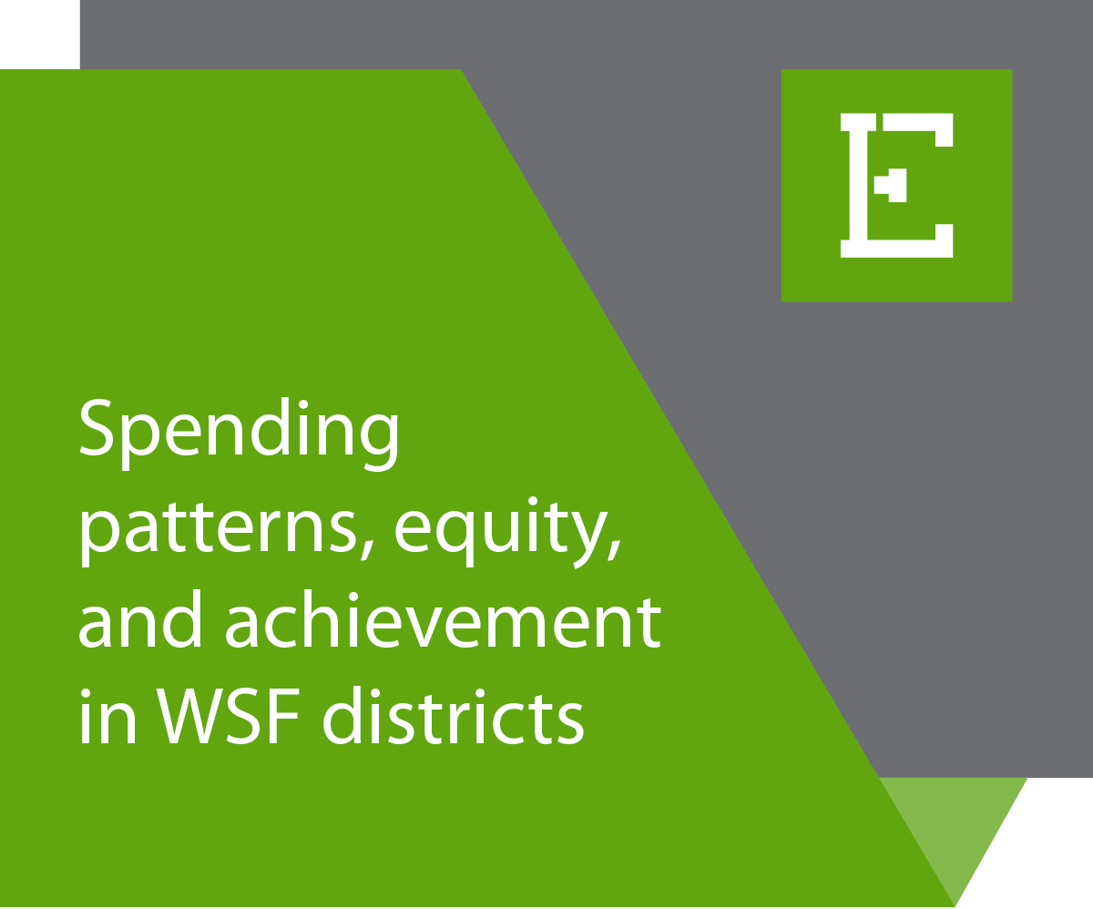 Edunomics Lab - Spending patterns, equity, and achievement in WSF districts